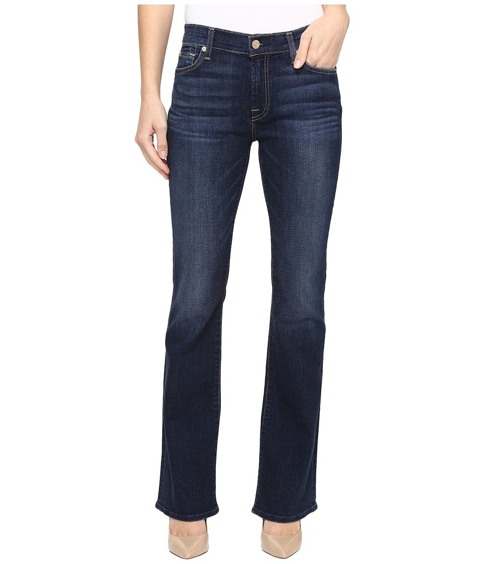 7 For All Mankind Tailorless Bootcut in Santiago Canyon (Santiago Canyon) Women