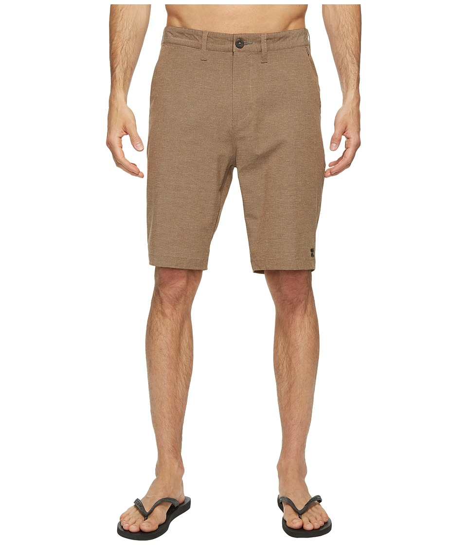 Billabong Crossfire X Hybrid Shorts (Bark) Men