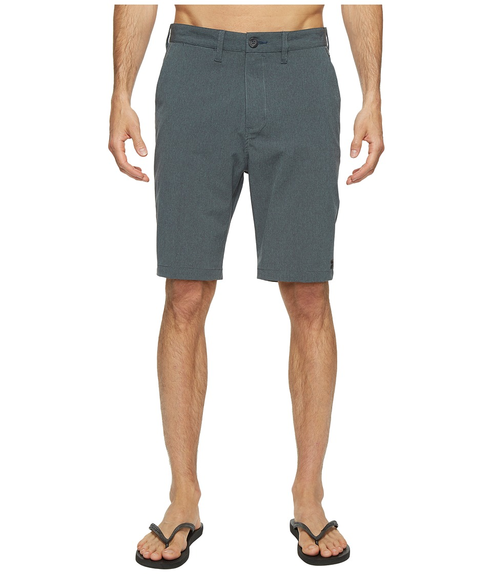 Billabong Crossfire X Hybrid Shorts (Dark Teal) Men