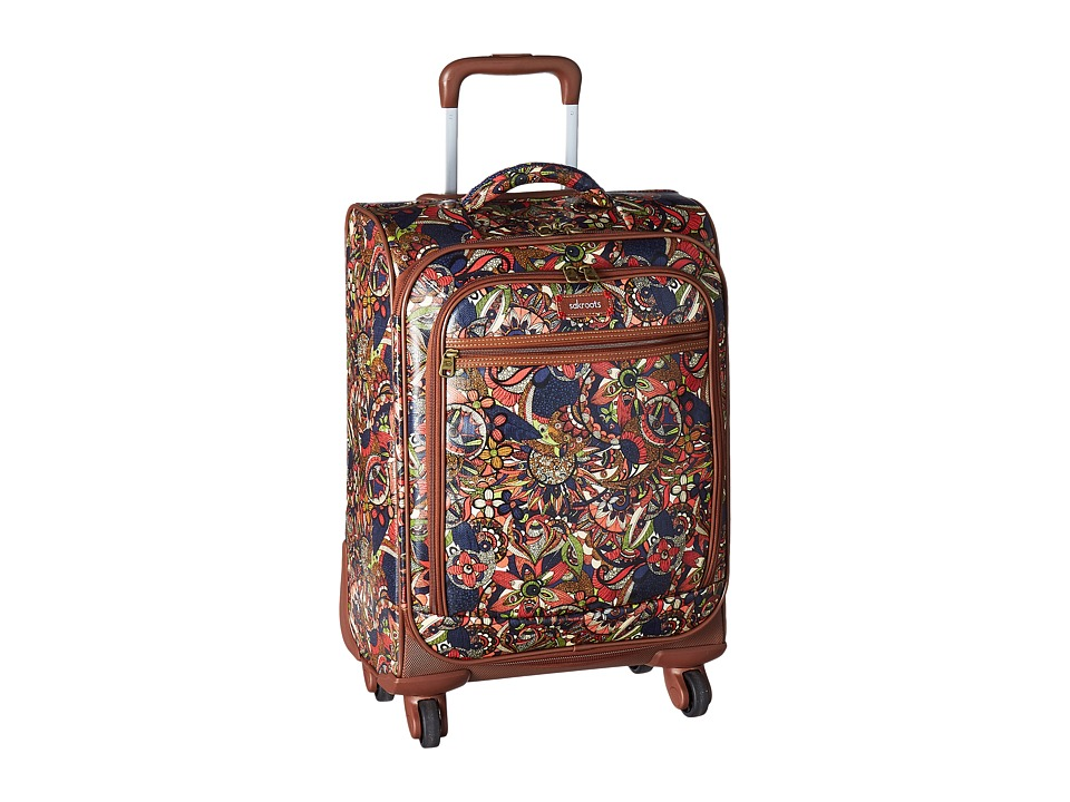 Sakroots Sak Roots Carry On Suitcase (Midnight Spirit Desert) Carry on Luggage
