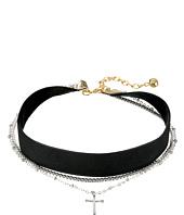 Vanessa Mooney - The Chain & Cross Choker Necklace