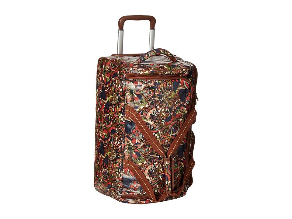 Sakroots Artist Circle Rolling Duffle (Midnight Spirit Desert) Duffel Bags