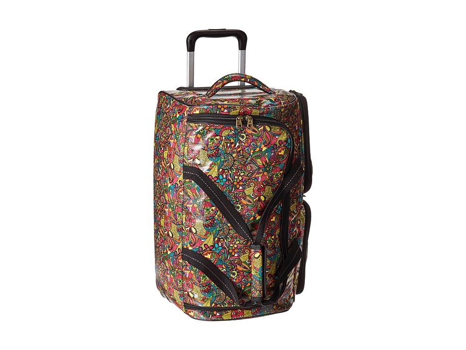Sakroots Artist Circle Rolling Duffle (Rainbow Spirit Desert) Duffel Bags