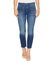 7 For All Mankind - Kimmie Crop in Barrier Reef Broken Twill