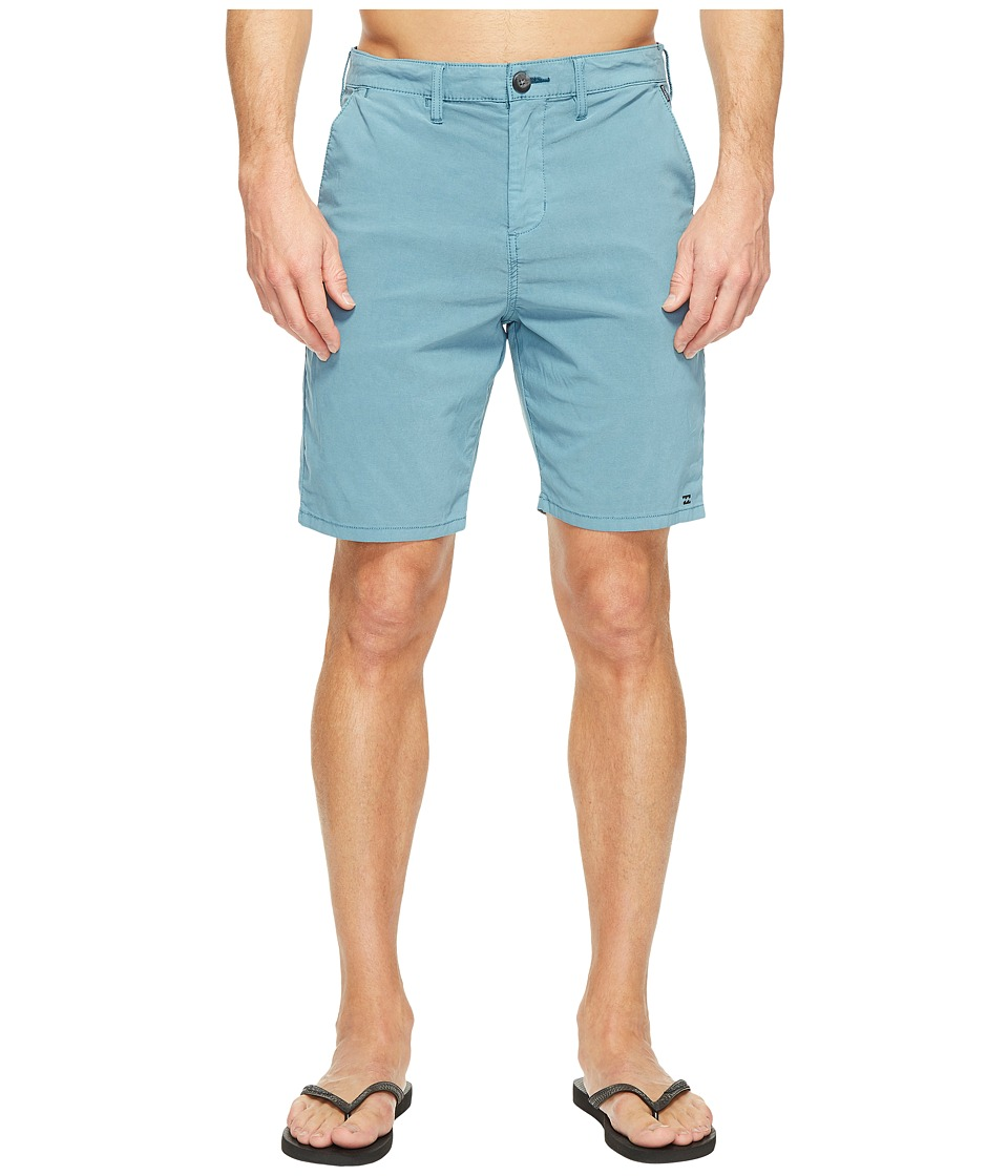 Billabong New Order X Overdye Walkshorts (Ocean) Men
