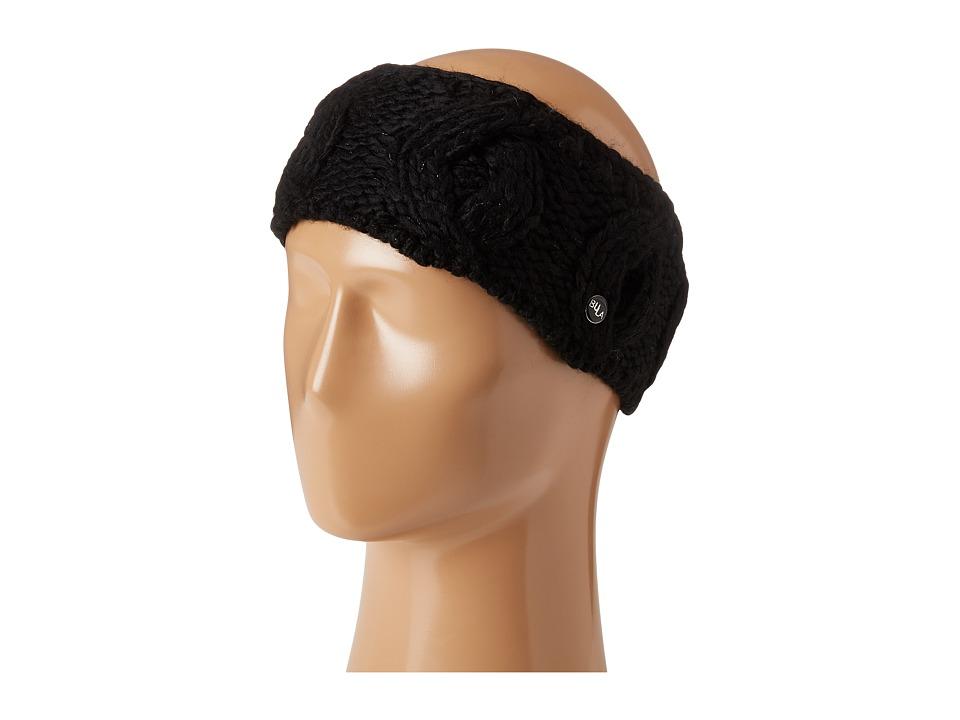 Bula Lina Earband (Black) Knit Hats
