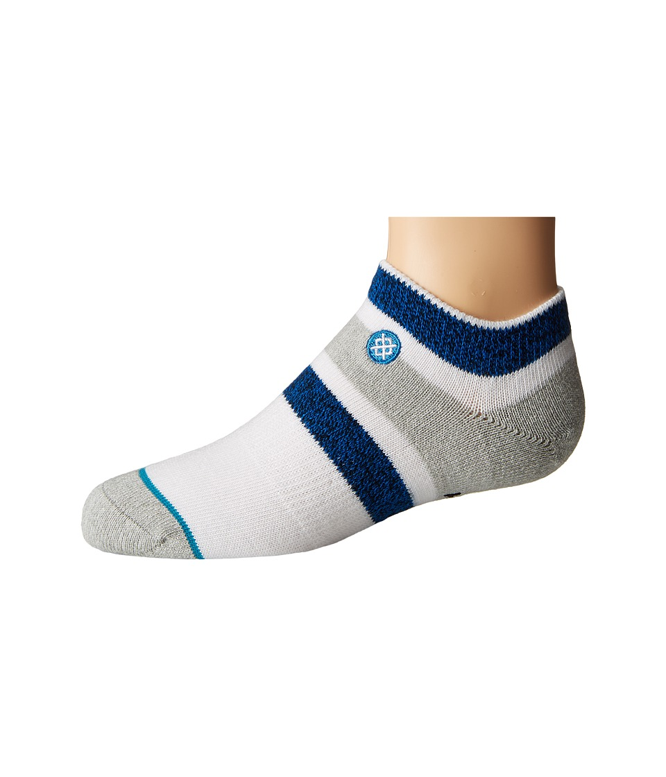 Stance - Boyd Low (Little Kid/Big Kid) (Blue) Men's Crew Cut Socks Shoes