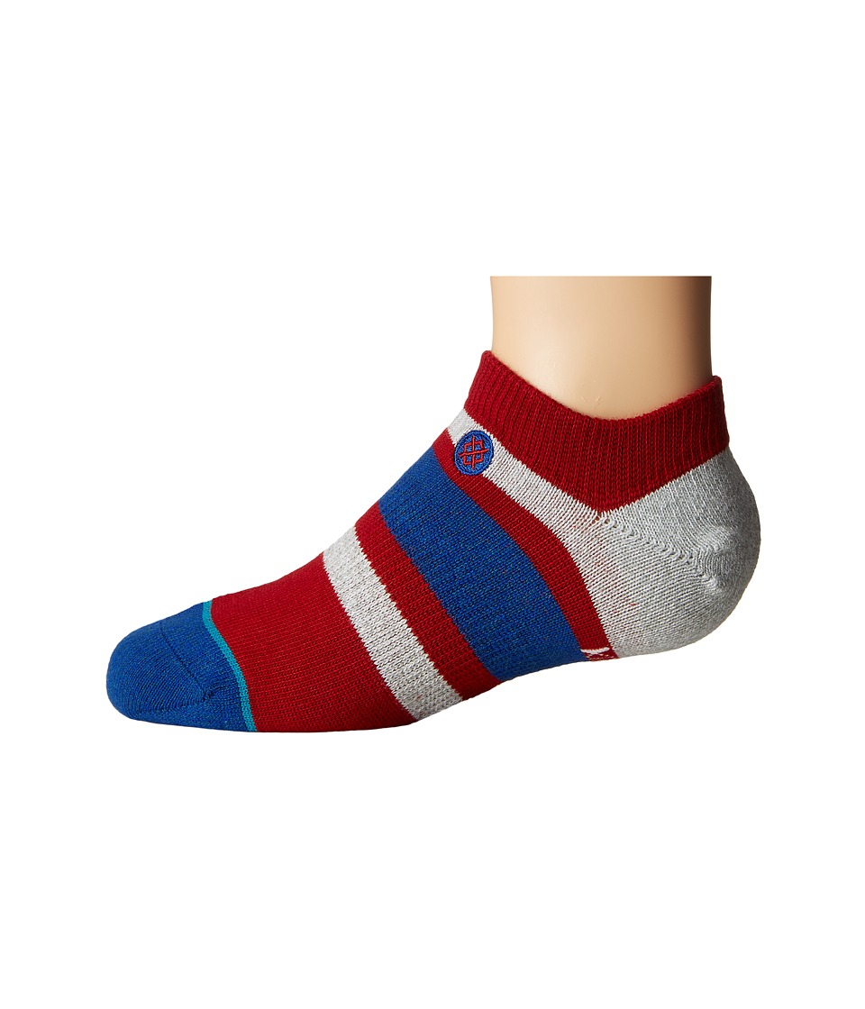 Stance - Boyd Low (Little Kid/Big Kid) (Red) Men's Crew Cut Socks Shoes