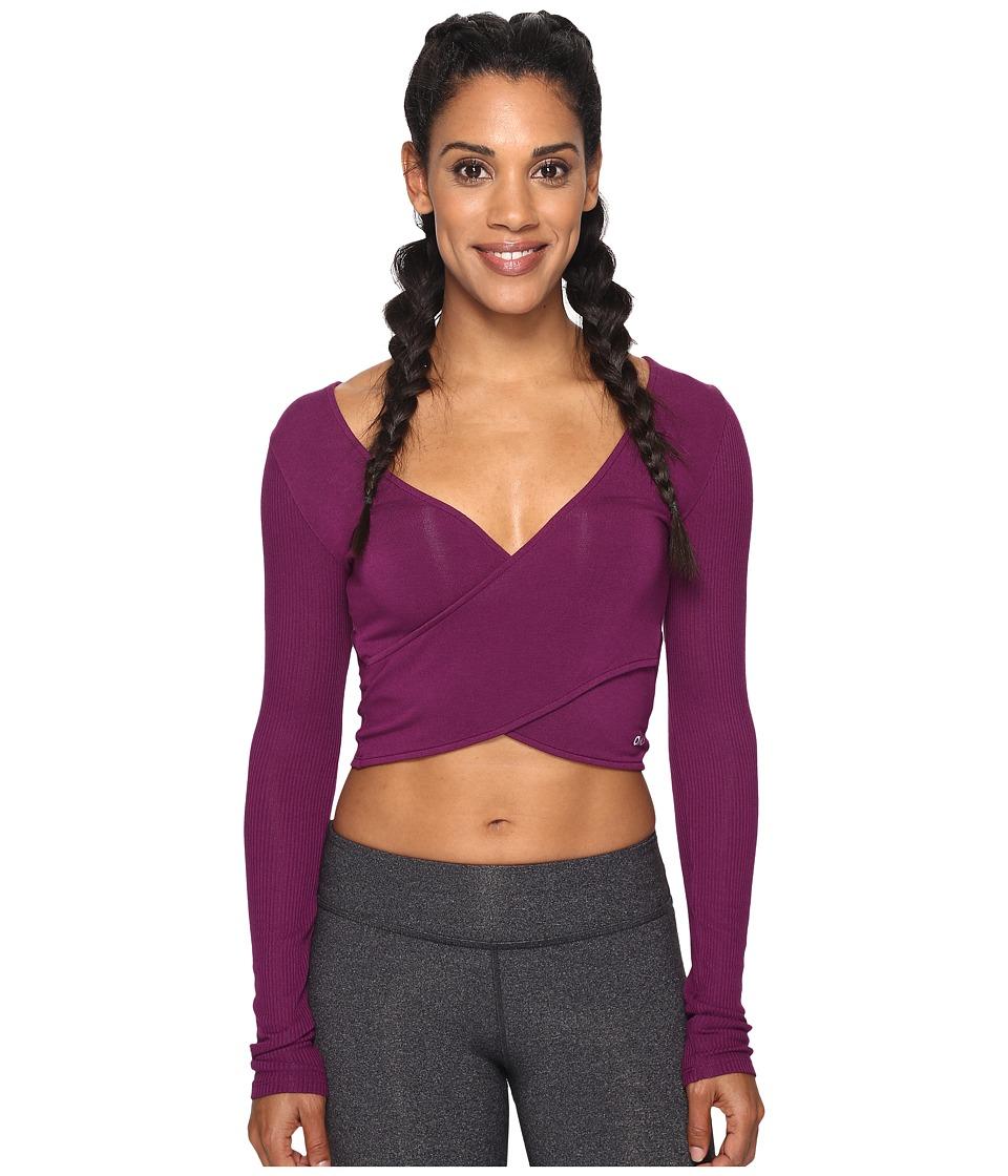 ALO - Amelia Long Sleeve Crop Top
