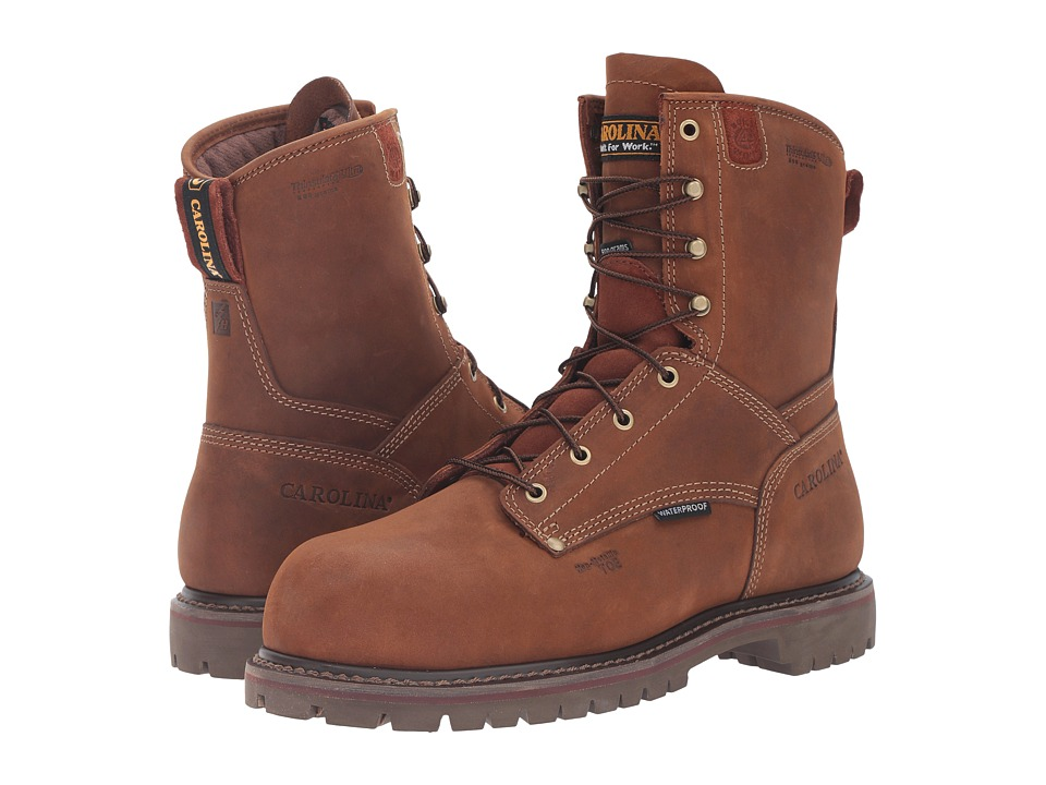 Carolina 8 Waterproof 800G Insulated Composite Toe Grizzly Boot (Kharthoum Cigar) Men