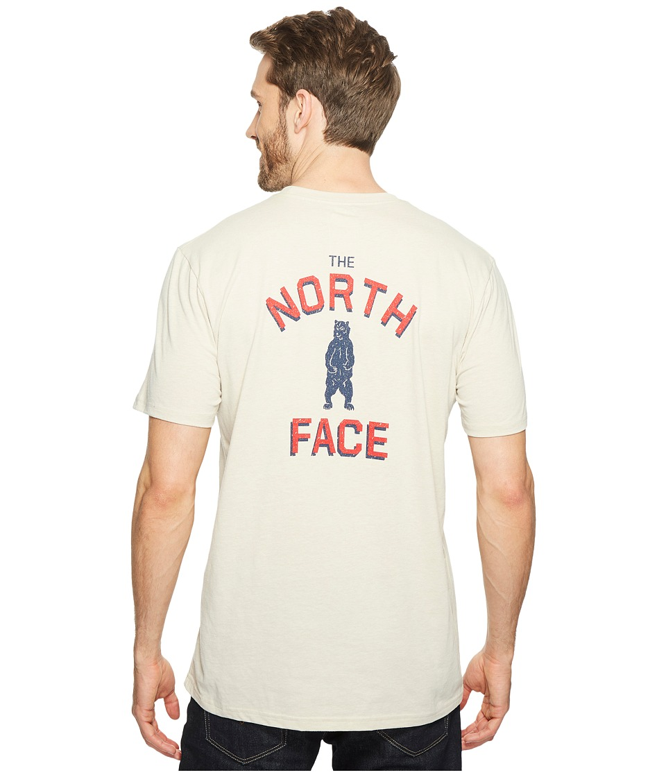 The North Face Short Sleeve Americana Pocket Tee (TNF Oatmeal Heather) Men