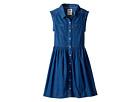 Levi's® Kids - Rolled Sleeve Short Sleeve Woven Dress (Big Kids)