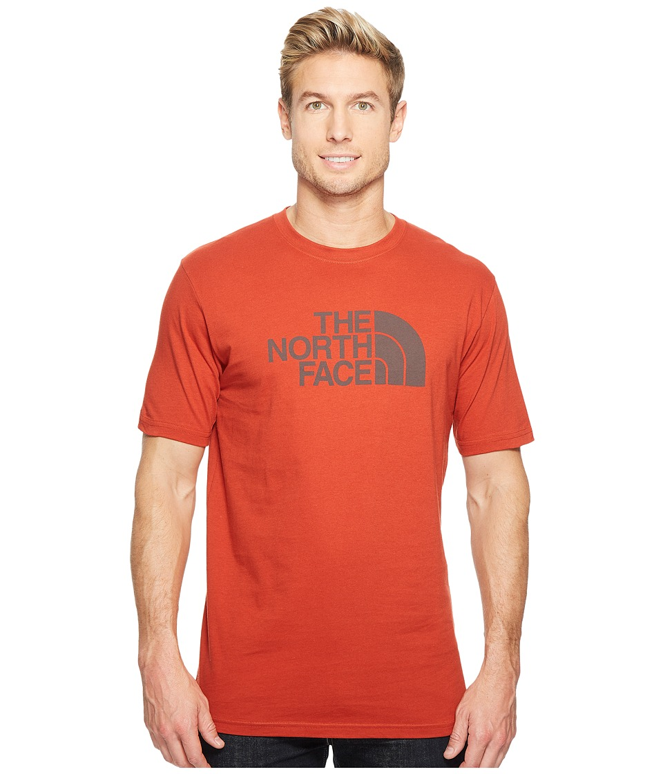 The North Face Short Sleeve Half Dome Tee (Ketchup Red/Asphalt Grey) Men