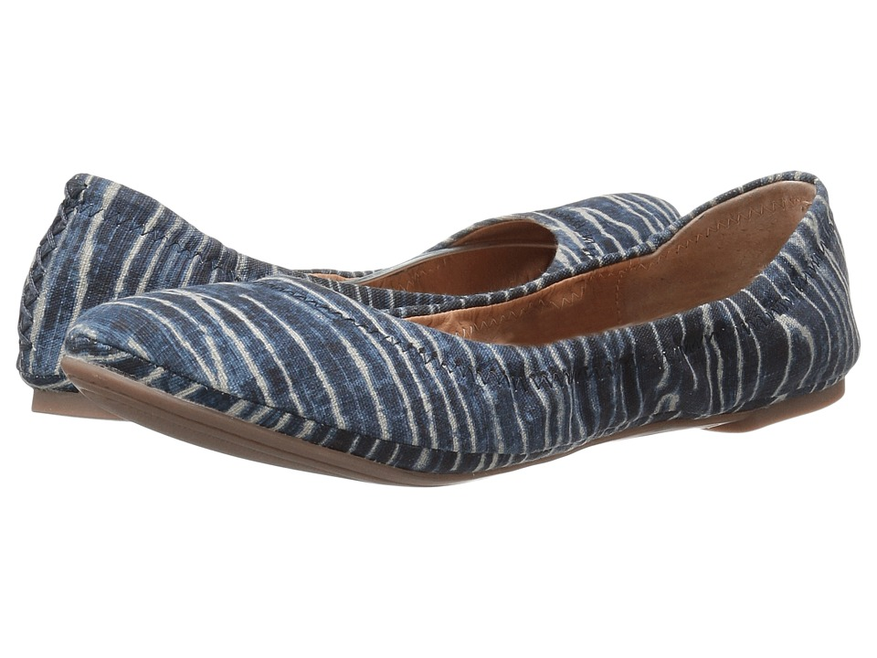 Lucky Brand Emmie (Dark Denim) Flats