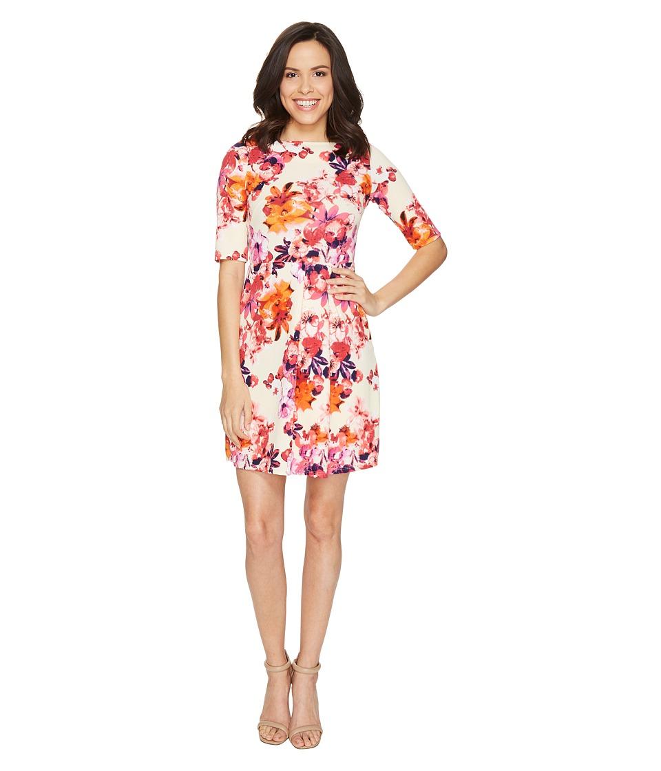 Christin Michaels - Anya 3/4 Sleeve Dress