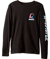 Quiksilver Kids - Action 1 Long Sleeve Screen Tee (Big Kids)