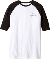 Quiksilver Kids - Last Call Raglan Screen Tee (Big Kids)