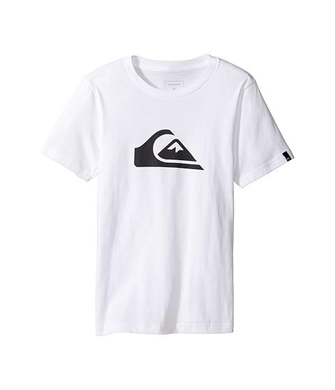 Quiksilver Kids Mountain Wave Logo Screen Tee (Big Kids)