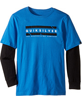 Quiksilver Kids - In Da Box Tech Screen Tee (Big Kids)