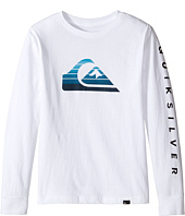 Quiksilver Kids - Milk Money Long Sleeve Screen Tee (Big Kids)