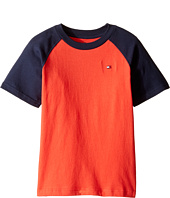 Tommy Hilfiger Kids - Gordon Short Sleeve Raglan Tee (Toddler/Little Kids)