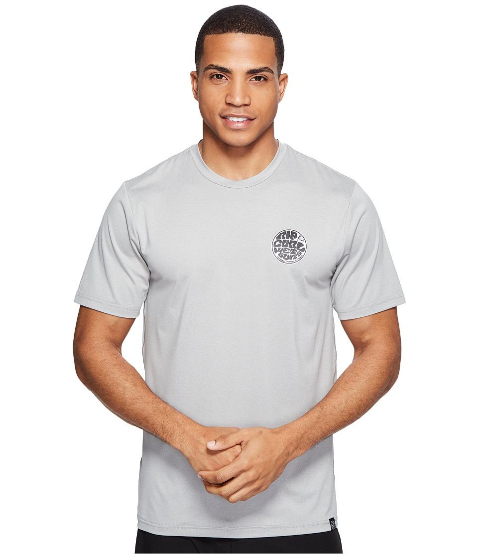 Rip Curl Aggrolite Surf Shirt Short Sleeve (Grey) Men