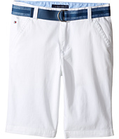 Tommy Hilfiger Kids - Dagger Stretch Twill Shorts (Big Kids)