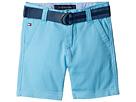 Tommy Hilfiger Kids - Dagger Stretch Twill Shorts (Big Kids)