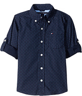 Tommy Hilfiger Kids - Mini Stars and Dots Printed Shirt (Big Kids)