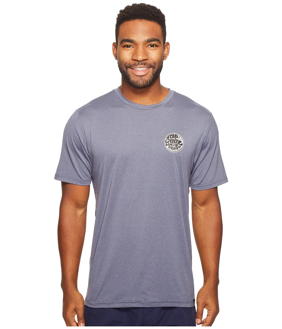 Rip Curl Aggrolite Surf Shirt Short Sleeve (Navy) Men