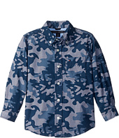 Tommy Hilfiger Kids - Glen Camo Printed Shirt (Toddler/Little Kids)