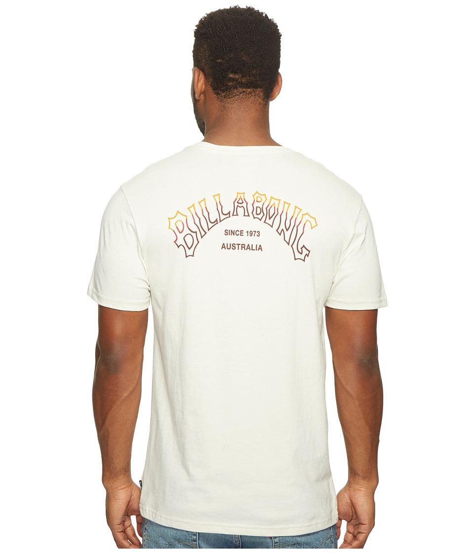 Billabong Tri Arch Printed T-Shirt (Rock) Men