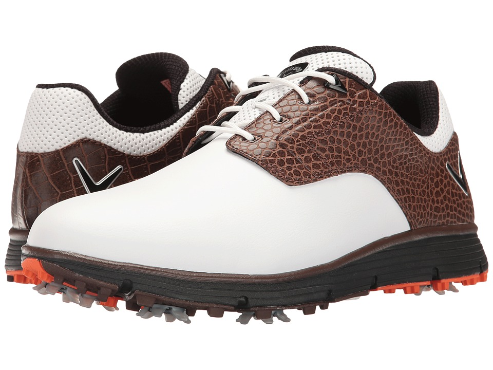 Callaway La Jolla (White/Brown) Men