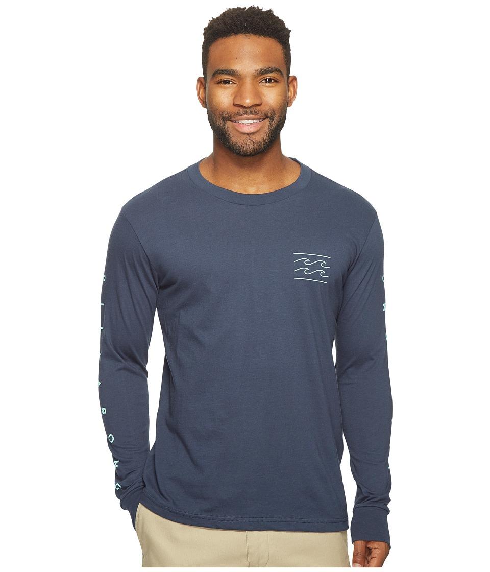 Billabong Unity Sleeve Printed T-Shirt (Navy) Men