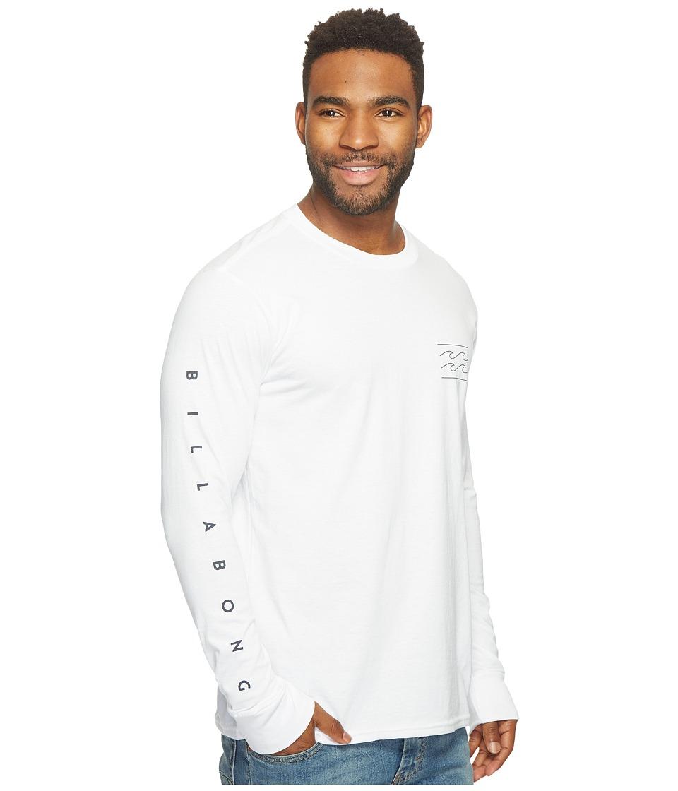 Billabong Unity Sleeve Printed T-Shirt (White) Men