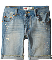 Levi's® Kids - 511 Cuffed Cut Off Shorts (Big Kids)