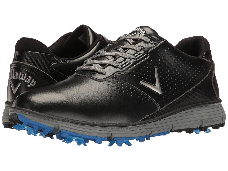 Callaway - Balboa TRX (Black/Grey) Mens Golf Shoes