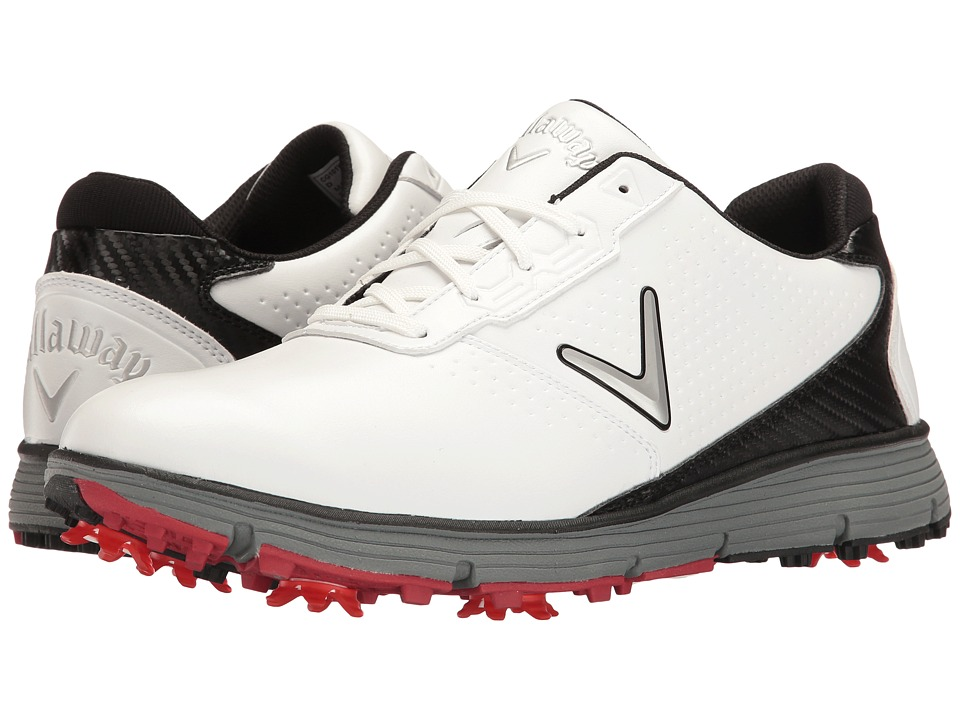 Callaway - Balboa TRX (White/Black) Mens Golf Shoes