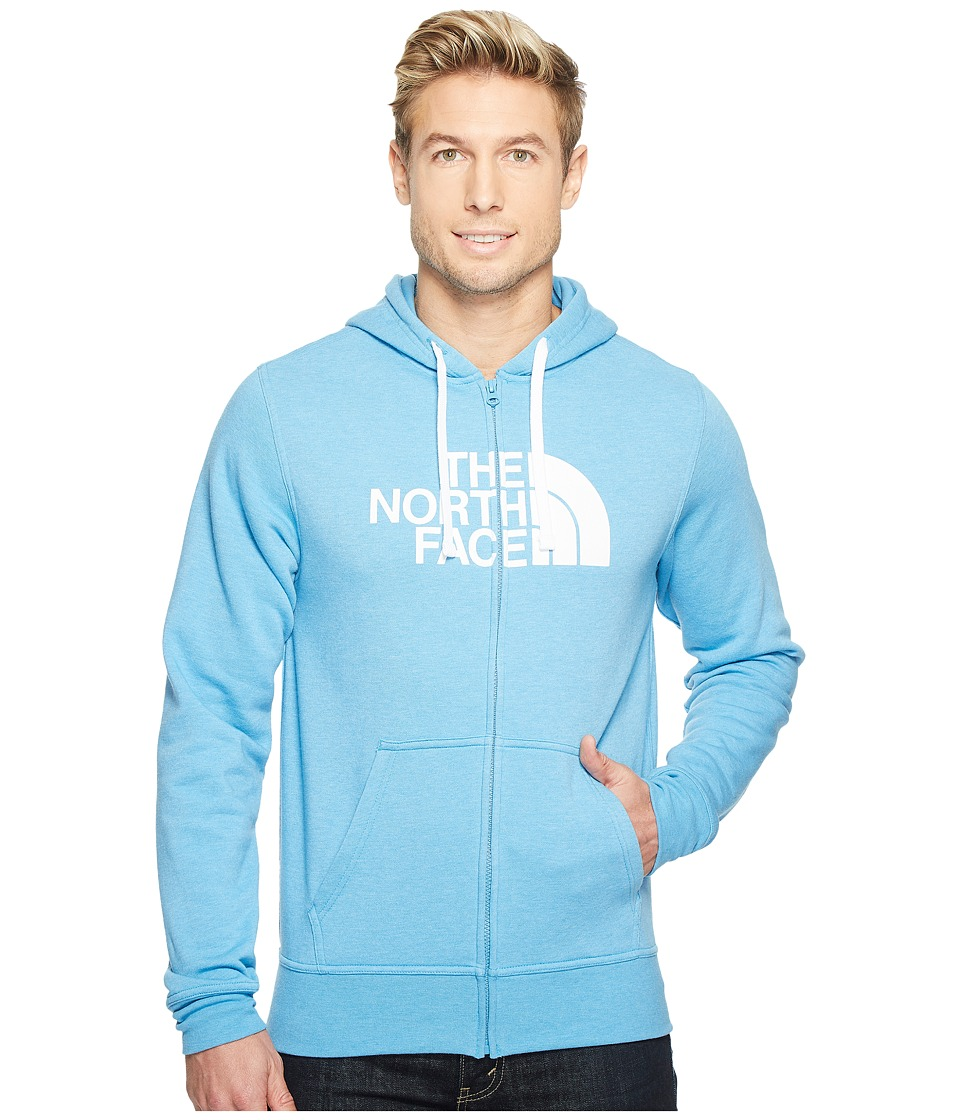 The North Face Half Dome Full Zip Hoodie (Cendre Blue Heather/TNF White) Men