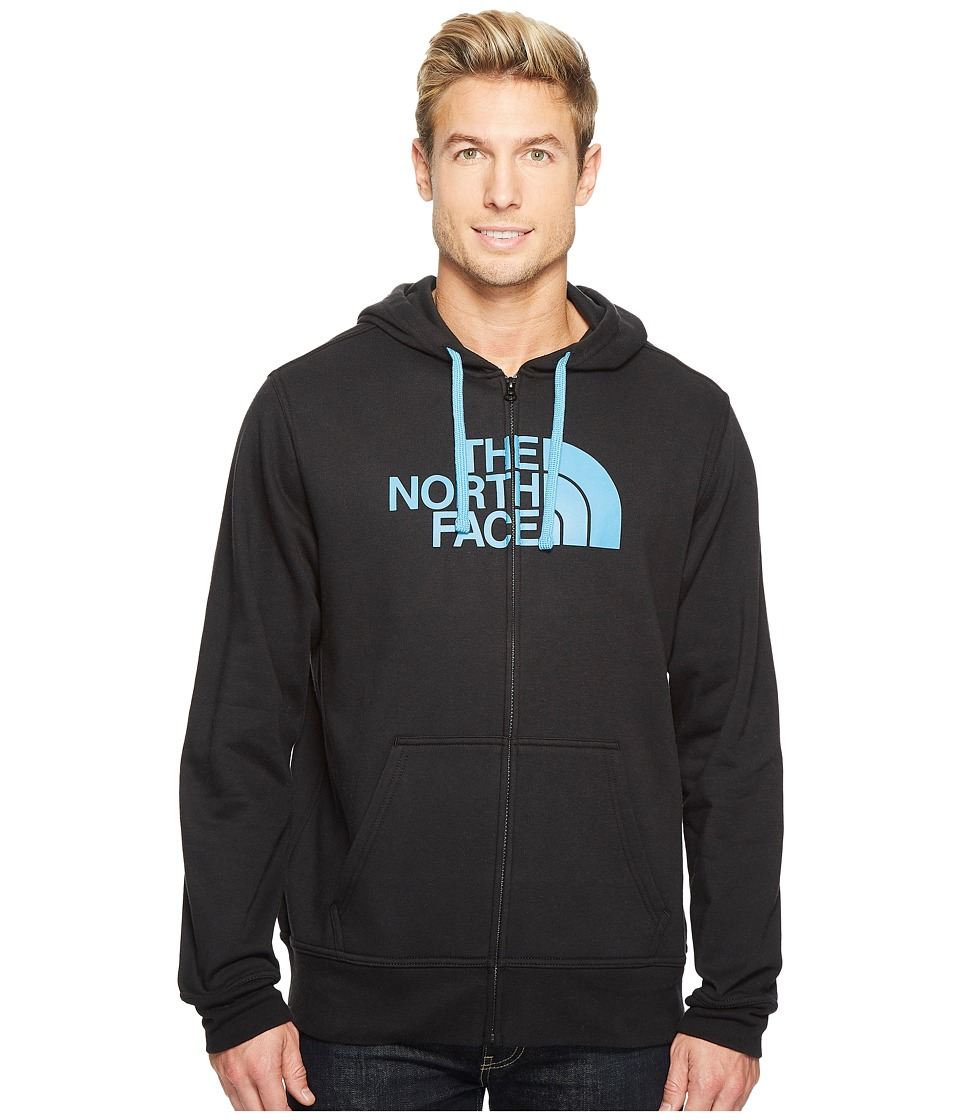 The North Face Half Dome Full Zip Hoodie (TNF Black/Cendre Blue) Men
