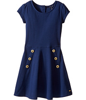 Tommy Hilfiger Kids - Solid Short Sleeve Pique Dress (Big Kids)