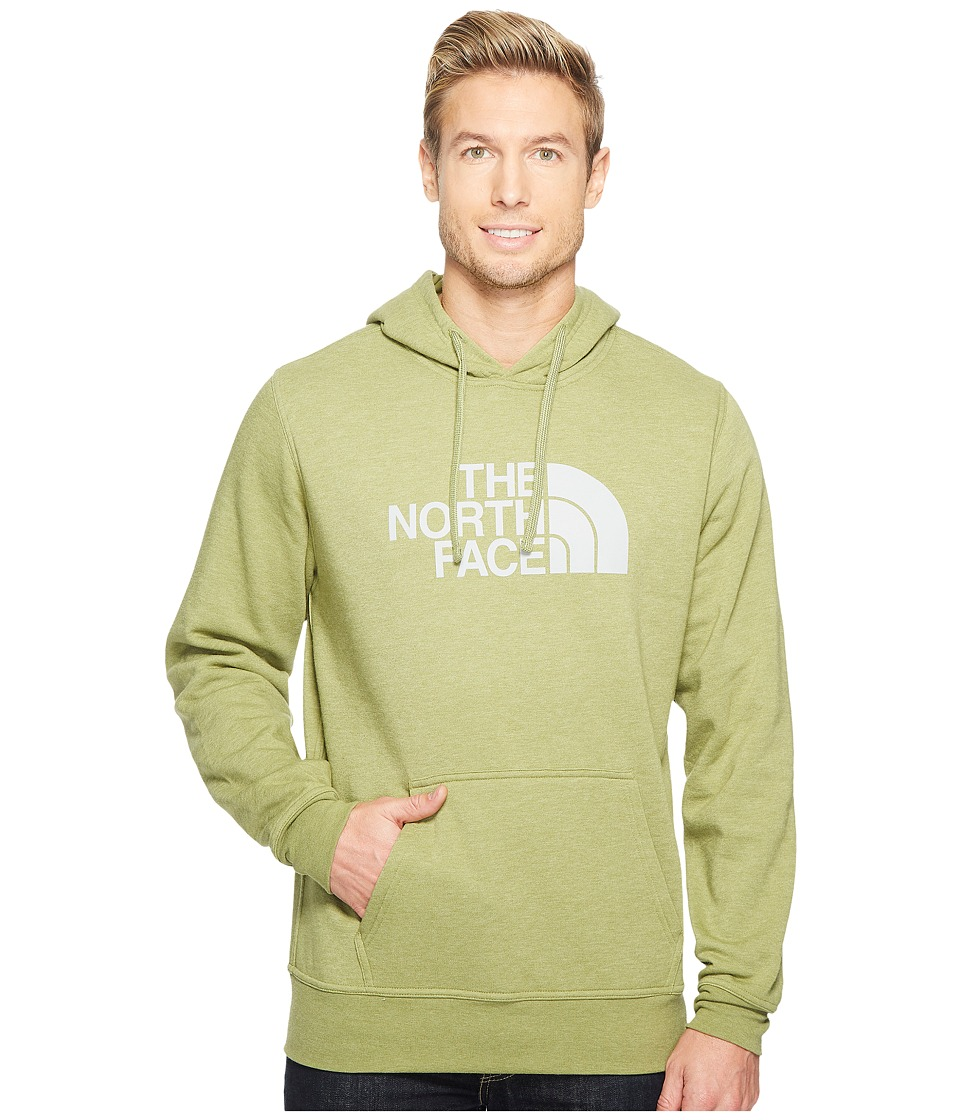 The North Face Half Dome Hoodie (Iguana Green Heather/High Rise Grey (Prior Season)) Men