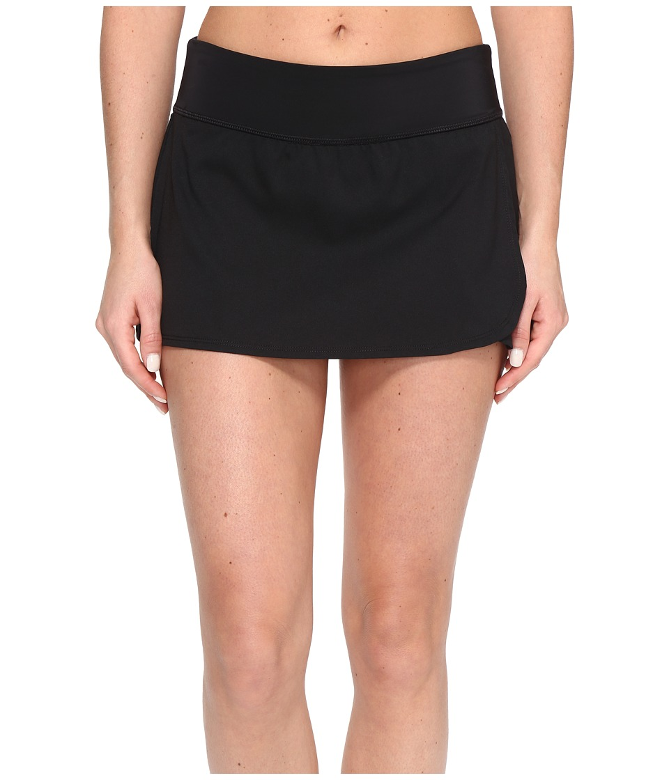 Nike Core Solid Seperates Swim Boardskirt (Black) Women's...