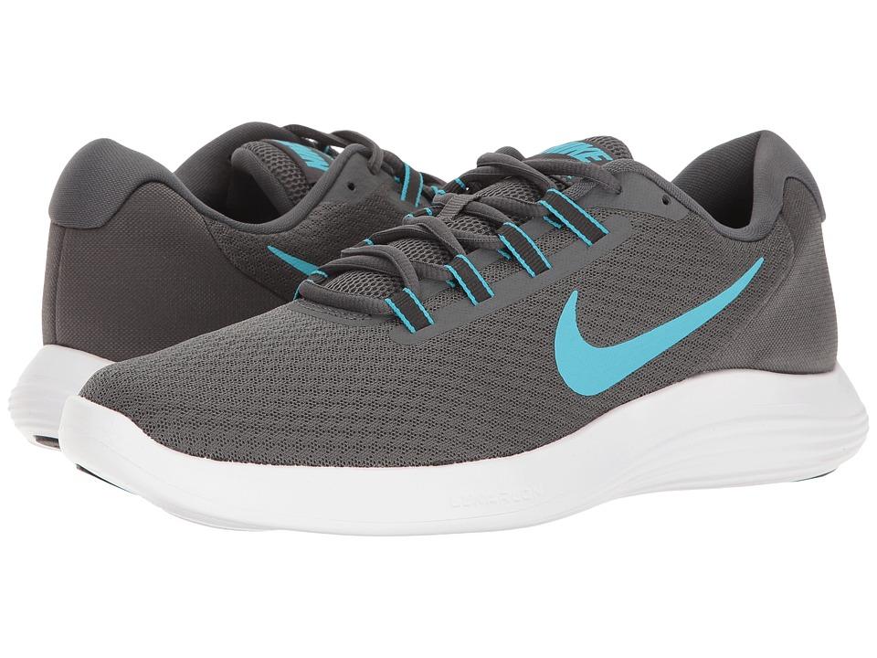Nike - Lunar Converge (Dark Grey/Chlorine Blue/Anthracite/Black) Men's Shoes