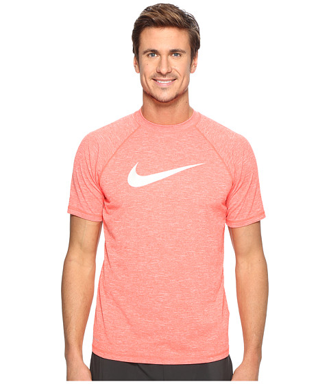 Nike Solid Heather Short Sleeve Hydro Top