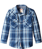 Levi's® Kids - Barstow Plaid Western Shirt (Little Kids)