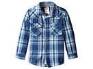 Levi's® Kids - Barstow Plaid Western Shirt (Little Kids)