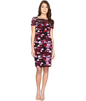 Adrianna Papell - Illisusion Yoke Banded Dress