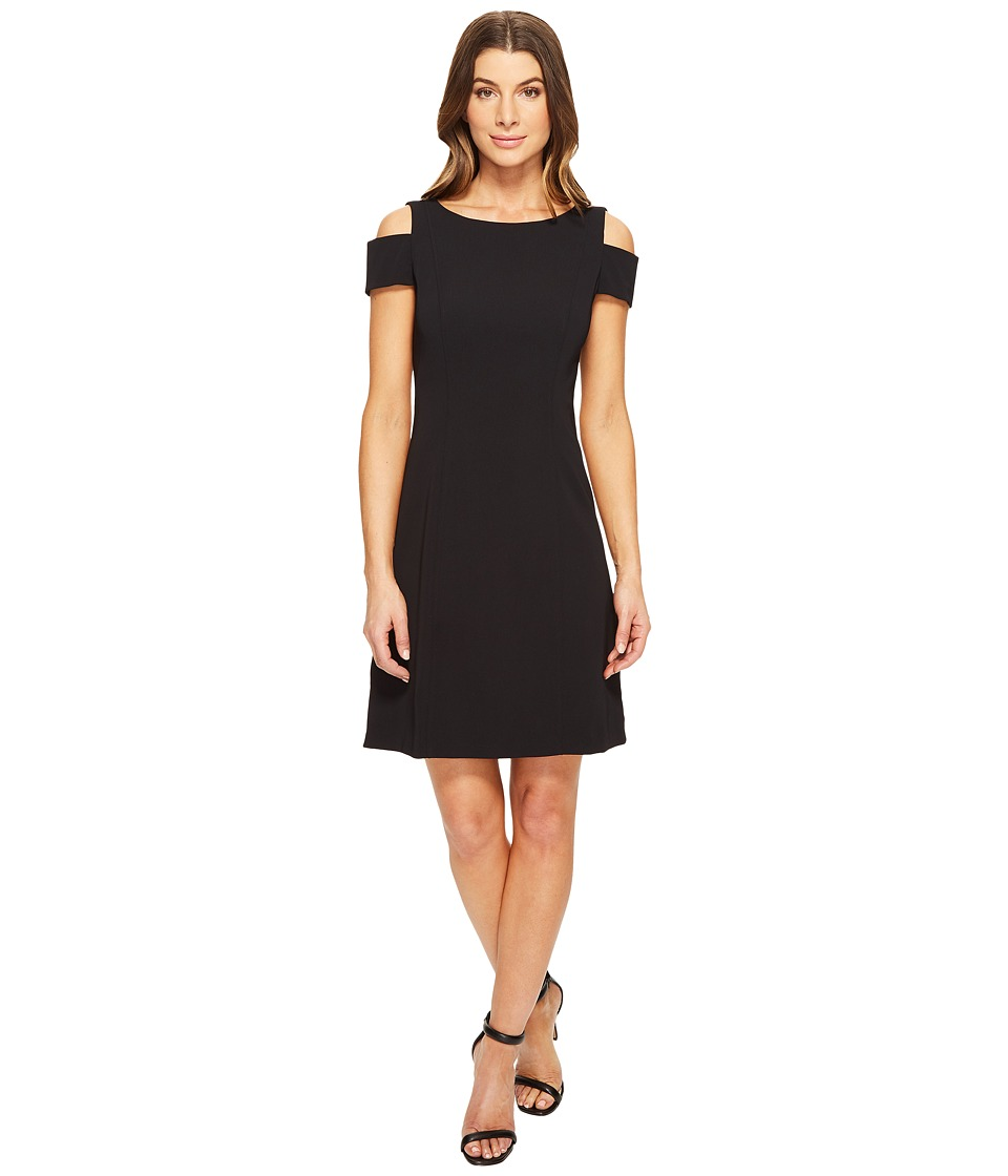 Adrianna Papell - Power Stretch Cold Shoulder A-Line Dress