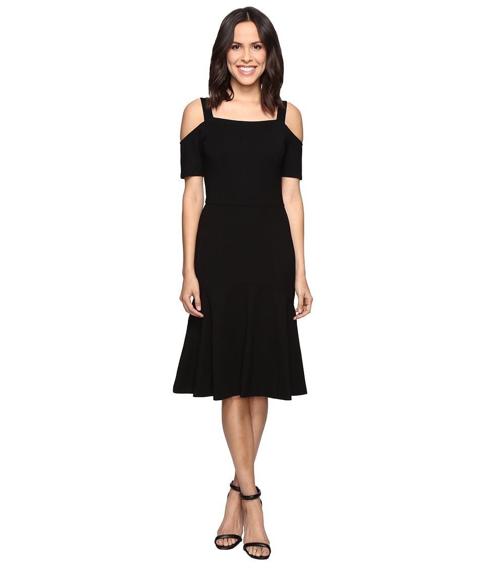 Image of Adelyn Rae - Cold Shoulder Dress (Black) Women's Dress